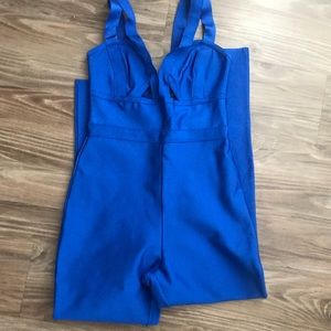 House of cb royal bandage jumpsuit